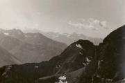 Vue du massif de Gavarnie et du Mont-Perdu depuis le Pic du Midi de Bigorre