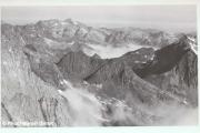 Vue du massif du Balaïtous depuis le Petit Vignemale