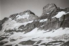 Le Mont-Perdu et le cylindre: versant Nord