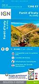 Carte de randonnée 1346 ET Forêt d'Iraty – Pic d'Orhy