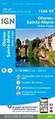 Carte de randonnée 1546 OT Oloron-Sainte-Marie – Vallée d'Aspe