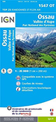 Carte de randonnée 1547 OT Aspe – Ossau – Parc National des Pyrénées