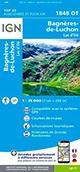 Carte de randonnée 1848 OT Bagnères-de-Luchon - Lac d'Oo