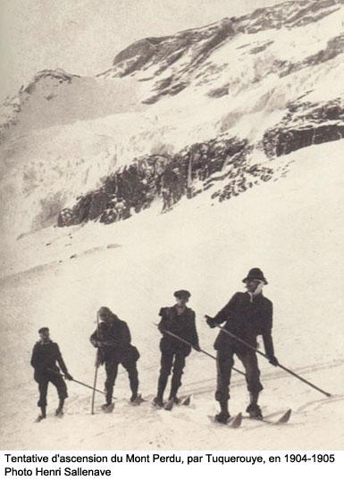 Tentative au Mont-Perdu. L'histoire du ski dans les Pyrénées