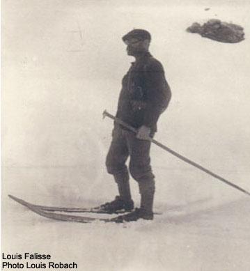 Louis falisse, un pionnier de l'histoire du ski dans les Pyrénées