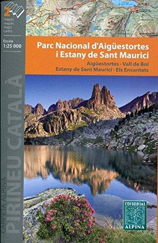 Cartes Alpina E-25 – Parc Nacional d'Aigüestortes I Estany de Sant Maurici (2 cartes)
