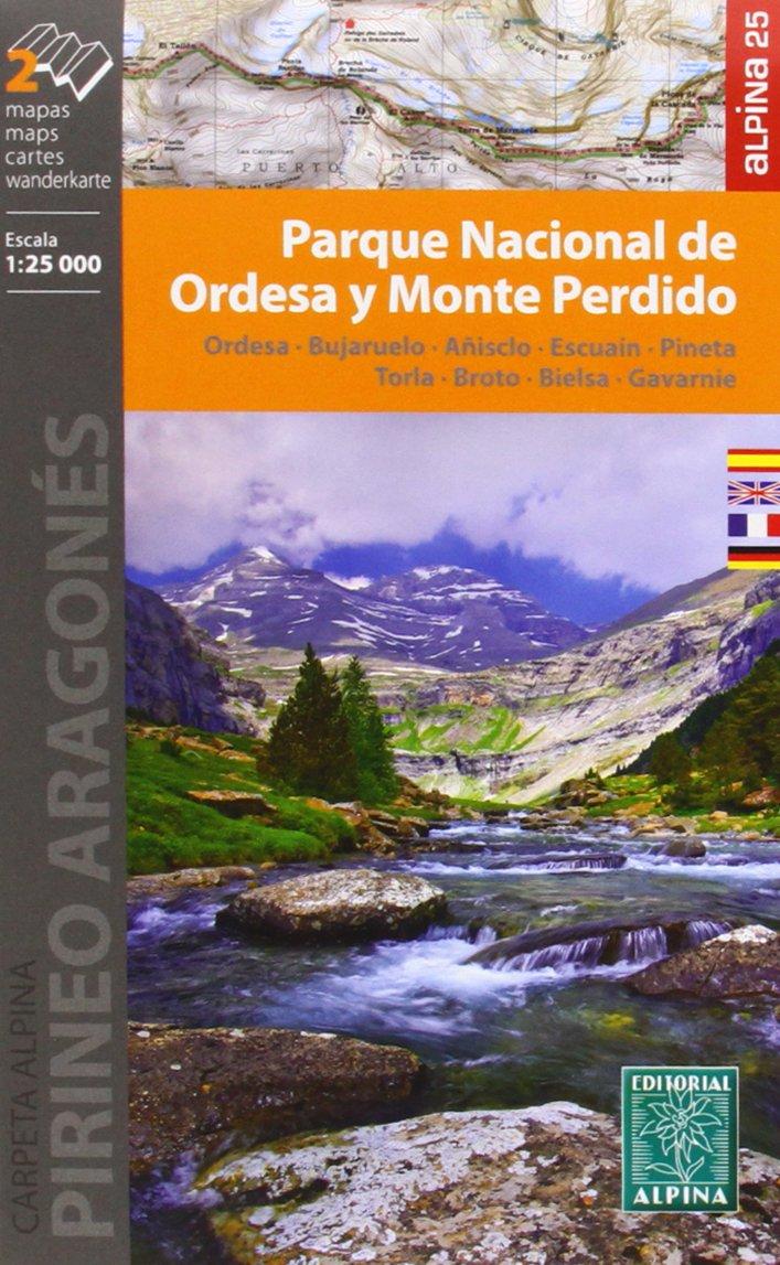Carte Alpina E-25 Parque Nacional de Ordesa Y Monte Perdido