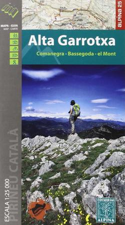 Les cartes de randonnées des Pyrénées Espagnoles