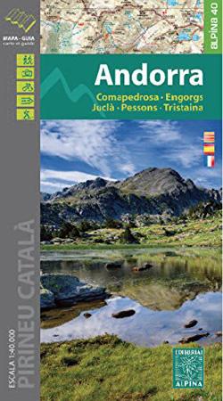 Carte Alpina Cerdanya – Capcir – Andorra