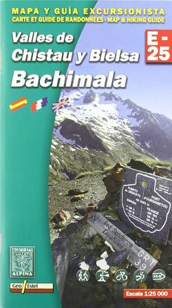 Carte Alpina E-25 Bachimala – Valles de Chistau y Bielsa