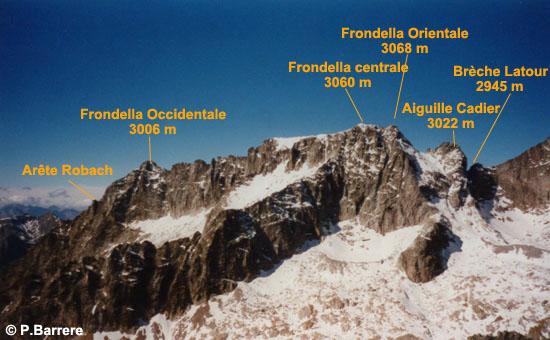 Massif Balaïtous - Frondella