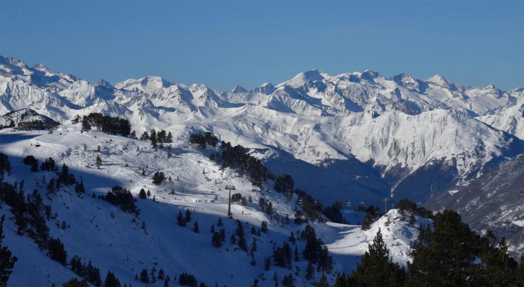 Baqueira Beret stations de ski des Pyrénées