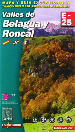 Carte Alpina E-25 Turbón y Alto Valle de Isábena