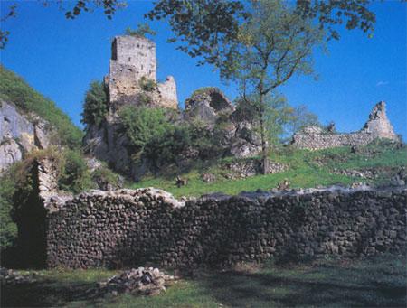 Le chateau de Bramevaque