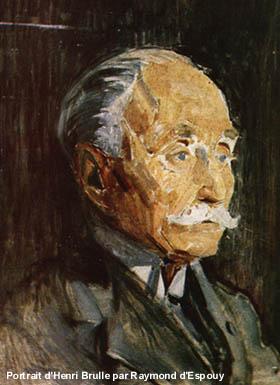 Portrait d'Henri Brulle par Raymond d'Espouy