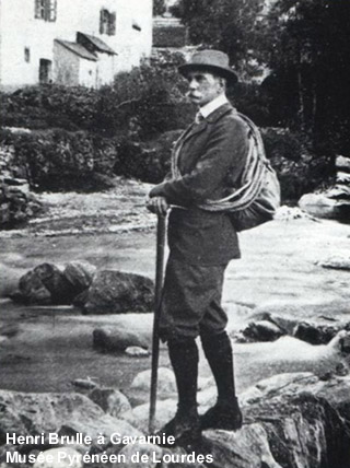 Henri Brulle à Gavarnie