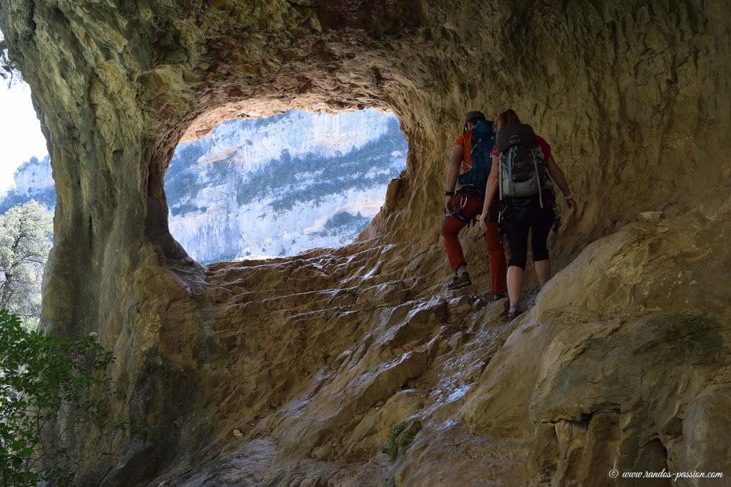 Le camino de las Escaleretas