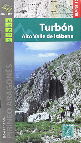 Carte Alpina Turbon Alto valle de Isabena