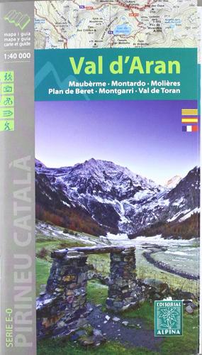 Carte Alpina E-40 Val d'Aran