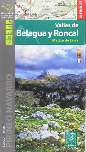 Carte Alpina Valles de Belagua y Roncal