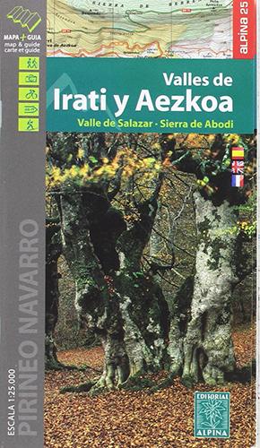 Carte Alpina Valles de Irati y Aezkoa