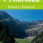 Carte générale touristique Pyrénées France Espagne