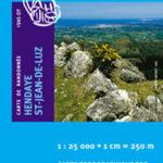 Carte de randonnée 1245 OT Hendaye – Saint-Jean de Luz