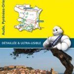 Carte routière et touristique Aude, Pyrénées-Orientales