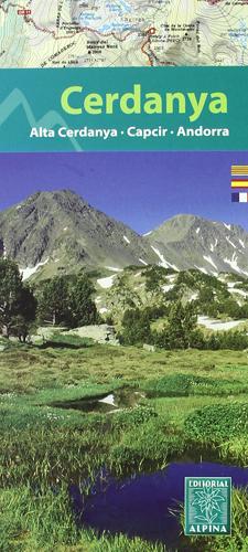 Carte de randonnée Cerdanya-Capcir-Andorra