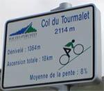 Le col du Tourmalet