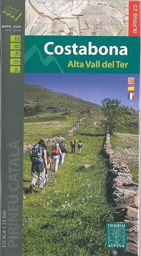 Carte Alpina E-25 Costabona – Alta Vall del Ter