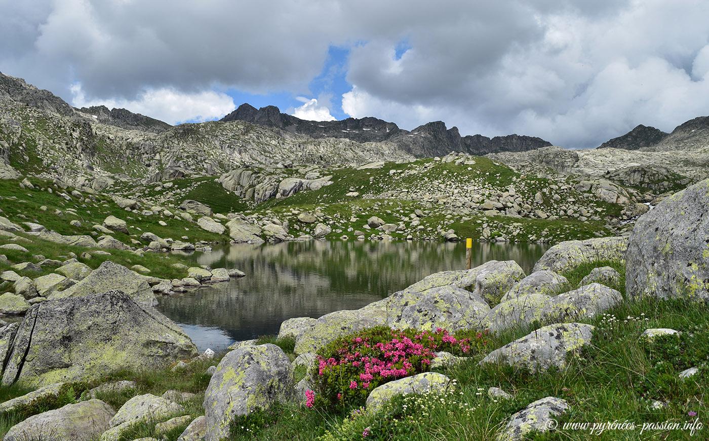 L'estany Xic en haute vallée de Caldes de Boí