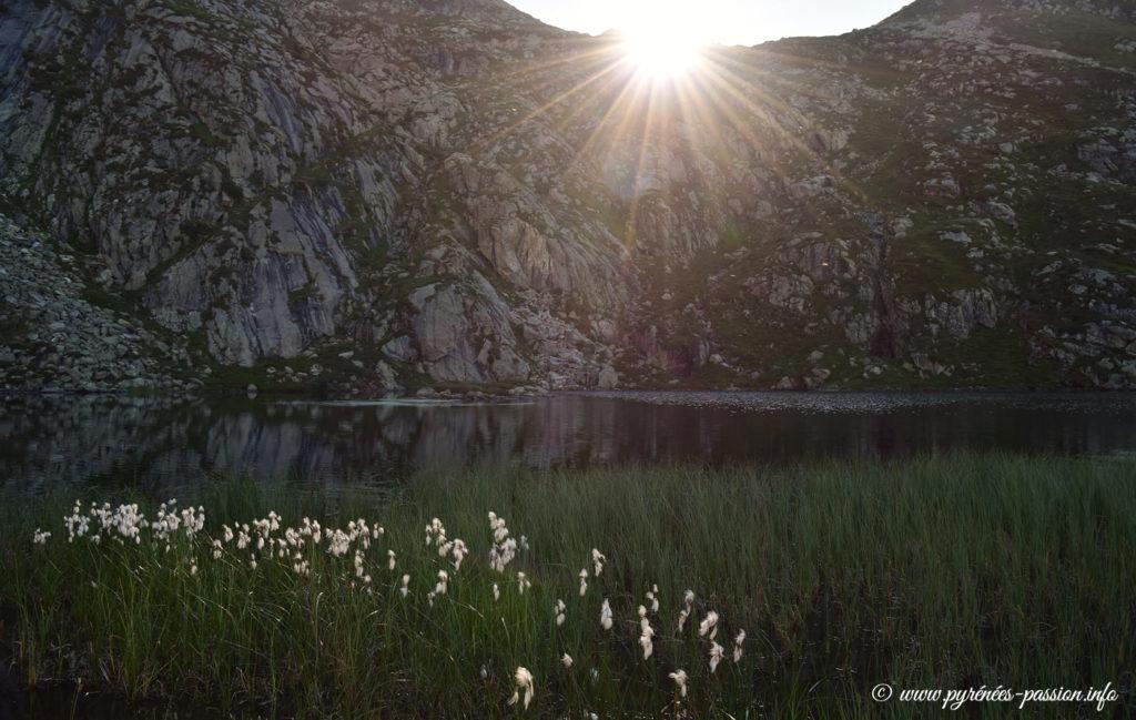 L'étang d'Arbu Ariège