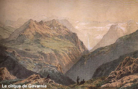 Le cirque de Gavarnie par Franz Schrader