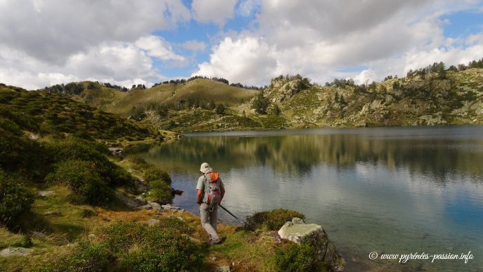 Le lac de Bastan supérieur