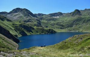 Le lac Bleu - Hautes-Pyrénées - vallée de Campan