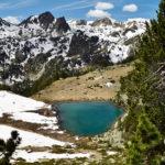 Le lac de Bastanet inférieur - Vallée d'Aure - Massif du Néouvielle