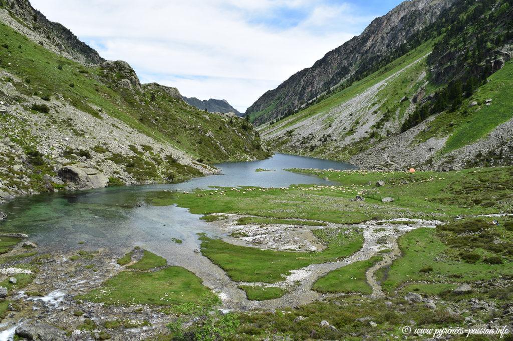 Le lac de Plaa de Prat - Hautes-Pyrénées - Val d'Azun