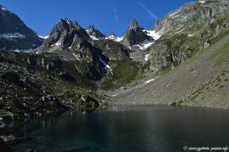 Le lac du Barbat - Hautes-Pyrénées