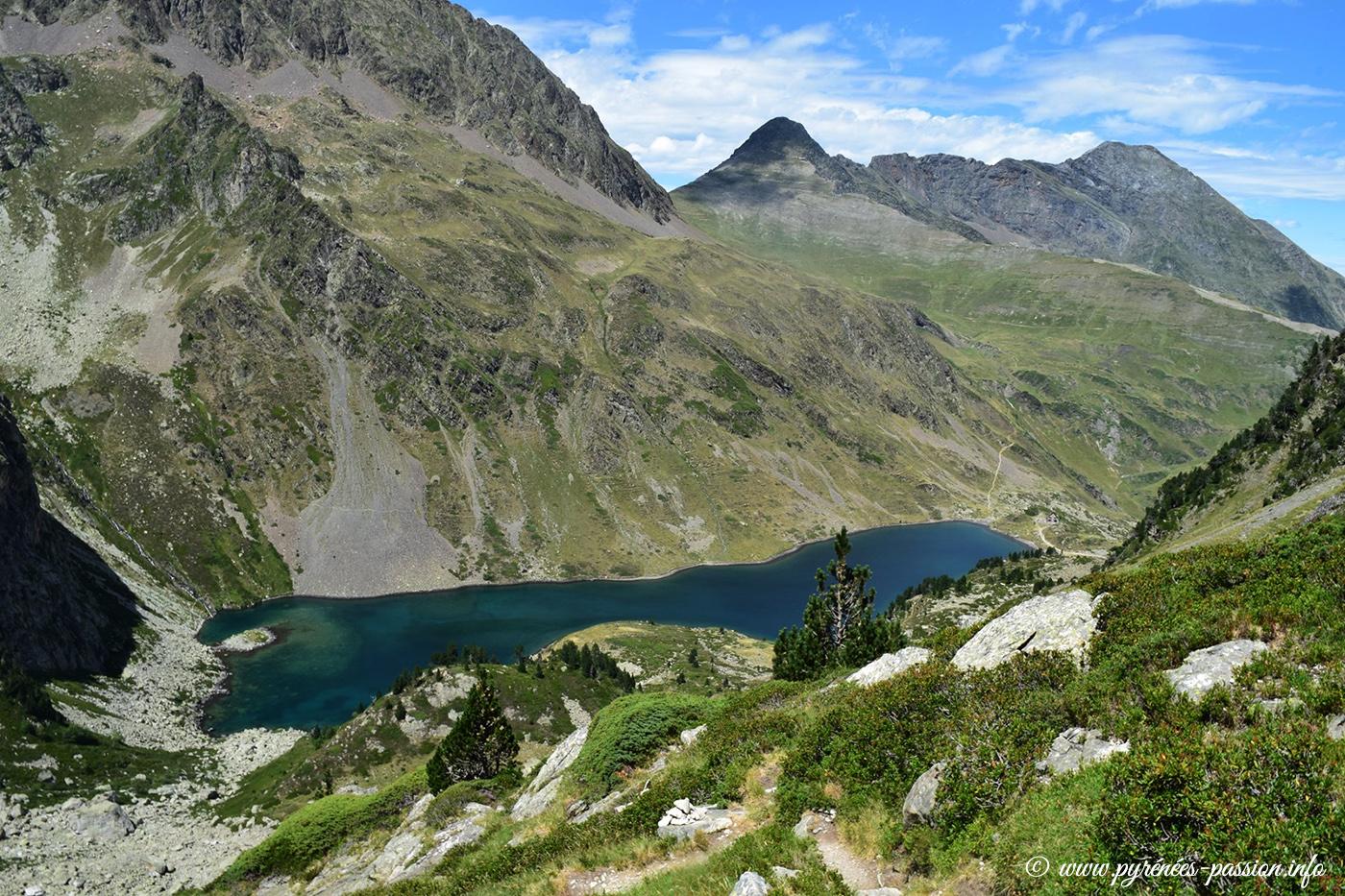 Le lac d'Ilhéou - Hautes-Pyrénées
