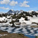 Le lac du milieu de Bastan - Hautes-Pyrénées - Vallée d'Aure - Massif du Néouvielle