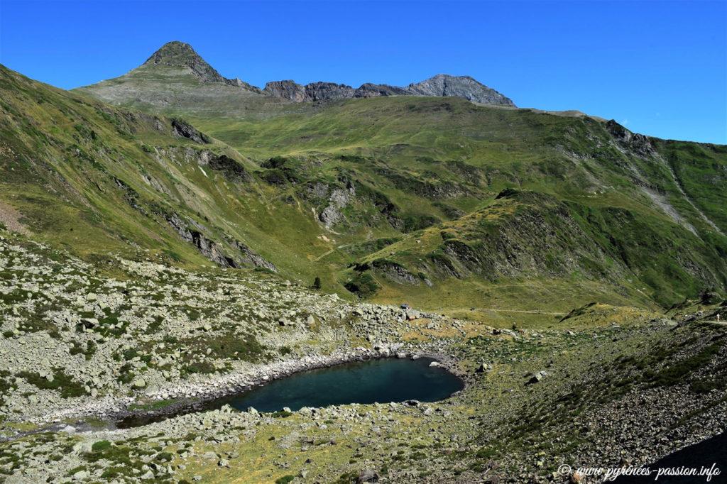 Le lac Noir d'Ilhéou est proche de Cauterets
