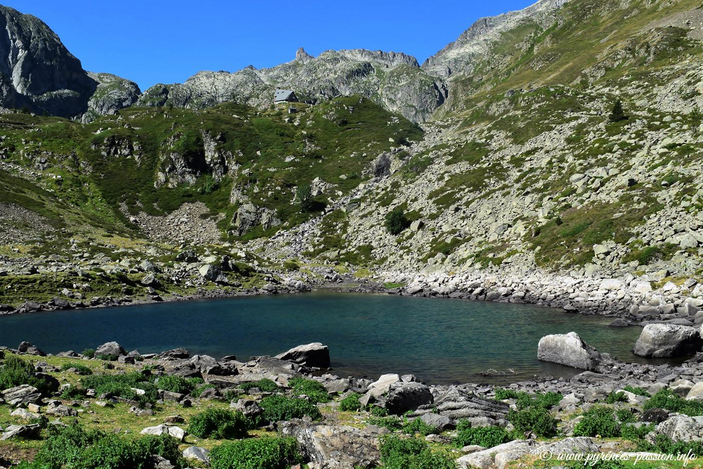 Le lac Noir d'Ilhéou - Cauterets - Hautes-Pyrénées
