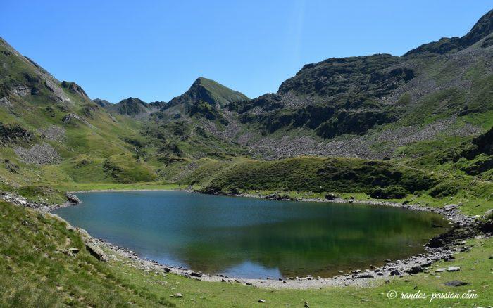 Le lac Vert - Hautes-Pyrénées - vallée de Campan
