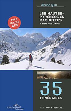 Les hautes Pyrénées en raquettes d'Olivier Guix Tome 2