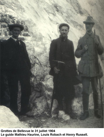 Louis Robach, Mathieu Haurine et Henry Russell