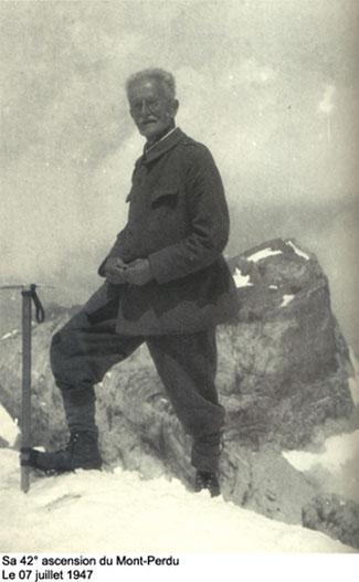 Louis Robach au Mont-Perdu