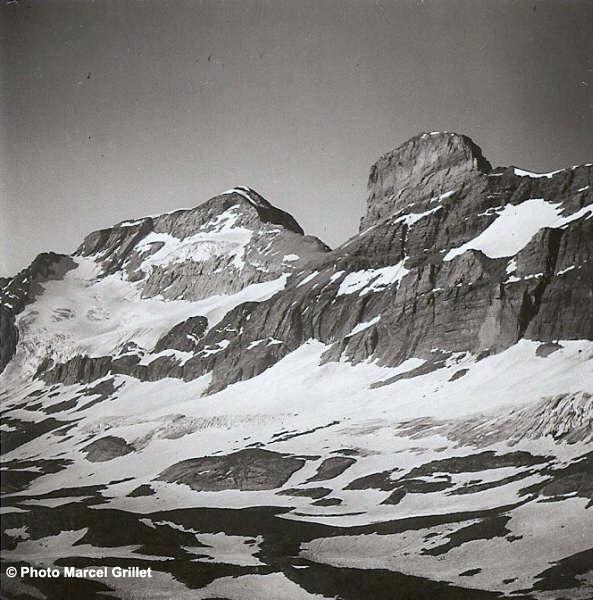 Le versant Nord du Mont_Perdu. Photo de Marcel Grillet