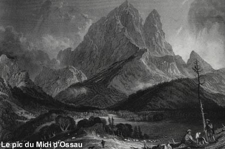 Le Pic du Midi d'Ossau par Frantz Schrader