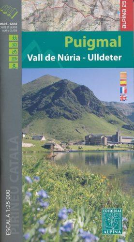 Carte Alpina E-25 Puigmal - Vall de Nuria - Ull de Ter